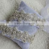 Crystal Beaded Wedding Accessories Rhinestone Dress Belt Bridal Sash WA017