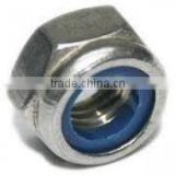 Hex Nylock Nuts (Self Locking Nuts with Nylone Insert)