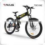Dongguan tailg electric road bike with pedal assisted system 250W 36V TDE109Z for sale