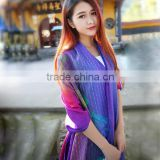 Fashion 2016 Pashmina Shawl jacquard cashmere scarf with some colors                                                                         Quality Choice