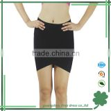 Good look black mini casual skirt fashion girl skirt