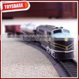 Kids Funny B/O Battery Operated 1:87 Plastic Classic Railway Electric Model funny train