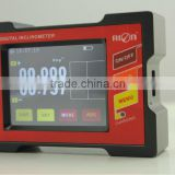 Industy Using Touch Screen Inclinometer Big Measuring Range With High Accuracy 0.003deg mm/deg Dual units Switch