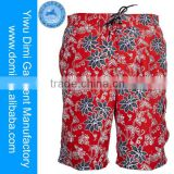 Yiwu Domi Garment newest digital print colorful men beach shorts and adult sexy photos man's beach shorts