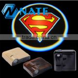 2014 hot sale wireless led door courtesy light with car logo diy car laser led logo door light