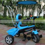 kids suncover tricycle, green, red, blue, purple baby tricycle stroller, good quality baby tricycle with more functions