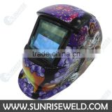 Safety FULL FACE Solar powered Auto-darkening Welding Helmet for Portable inverter MMA/TIG/MIG welder