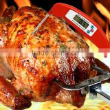 CE Certificated Waterproof Digital Stainless Good Baby Milk BBQ Meat Cook Meat Thermometer, Cooking Thermometer