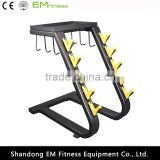 handle rack body building strength gym equipment