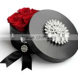 High Quality Flower Shipping Boxes , Hat Box Flowers , Wholesale Flower Hat Boxes