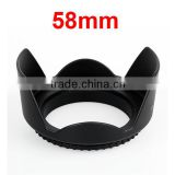 High Quality Camera Bayonet Lens Hood 58MM for Canon