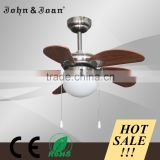 Europe Style Cube Classic Power Saving 12 Volt Ceiling Fan