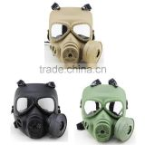 Ballistic Anti Poison Full Face Army Tactical Combat Wargame Protective Mask for Paintball