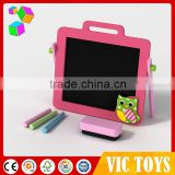Zhejiang Factory Color frame Black board with chalks
