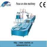 Wenzhou Starlink Hot Sale 19m 60 stations Production Line inject PU leather shoe making machine