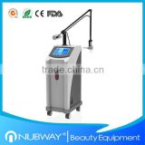 10600nm Laser Skin Resurfacing Medical Beauty Equipment Spot Scar Vascular Treatment Pigment Removal RF Tube Fractional CO2 Laser Ultra Pulse Lips Hair Removal
