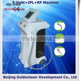 2013 Exporter E-light+IPL+RF machine elite epilation machine weight loss hologram hot stamping machine