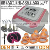 vibration photon suction deflation microcurrent stimulation for breast lift electronic pulse muscle stimulator