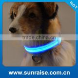 Factory Supply rechargeable led dog collar usb Waterproof, bright light