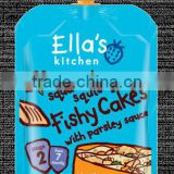 Ella's Kitchen Squashed Squishy Fishy Cakes 130g Stage 2 (7 months +)