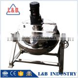 New Style Tilting Jacketed Cooking Porridge Machine,High Quality Porridge Steam Jacket Kettle
