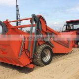 good quality, tractor towed beach sand cleaner, beach cleaning machine, beach sweeper with CE certification