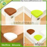 Soft Silicone material safety furniture corner guard protector for baby/kids safety protection