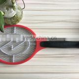 factory custom electric zapper mosquito swatter european three pin plug fly insect swatter