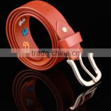 Customized Wholesale Genuine Leather Belt And Leather Utility Belt