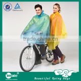 New design adult pvc rain cape