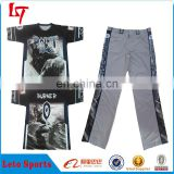 High school team wear sports pants and shirts /Wholesale plus size baseball pants & softball pants