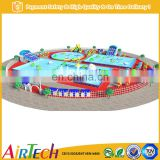 Commerical water theme park inflatable indoor playground for adult