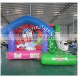 2016 Aier kids play inflatable obstacles/inflatable castle/bouncer/combo for sale