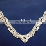 Lace collar neck