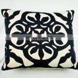 100% cotton Indian handmade car chair cotton foam back support home decor living room cushion