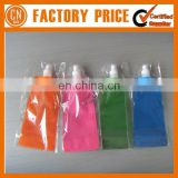 Promotional Give Away Gifts 480ml PET Foldable Water Bottles