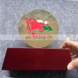 I Love Oman Metal Oman Flag Awards Trophy For Oman National Day