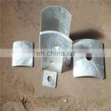 hot sale galvanized carbon steel Q235 Square bent Washers