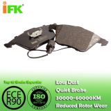 4E0698151F/GDB1617/GDB1659/GDB1554/D1111 Semi-metallic/Low-metallic/NAO/Ceramic Disc brake pad manufacturer