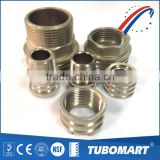 High precision tubing insert male / female brass inserts for plastic ppr pipe                                                                         Quality Choice
