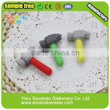 Wholesale Promotional Gift Working Tool Rubber Hammer Eraser
