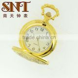 SNT PW003 japan movt pocket watch japan movement pocket watch IPG plating with Bird