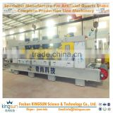Making machine for artificial quartz stone slab calibrating/thickness machine for marble granite slab