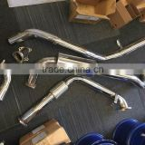 stainless steel exhaust systerm for toyota landcruiser 80 series 1hz exhaust systerm