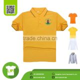 South African President campaign yellow T-shirt, custom blank t shirts for printing100% microfiber polyester shirts