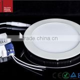 ES-6W-R-W plastic ceiling light covers of led round light panel