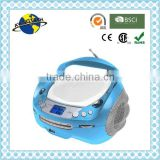 Shinny Blue Fancy Color CD Boombox USB Boombox PLL Boombox