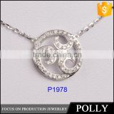 2015 new design scalar energy pendant 925 silver pedant wholesale high quality low price