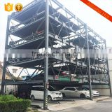 automatic mechanical vertical multilevel smart car parking system barrier