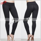 wholesale custom nylon spandex high waistband yoga leggings dry fit gym leggings pants for women                                                                                         Most Popular